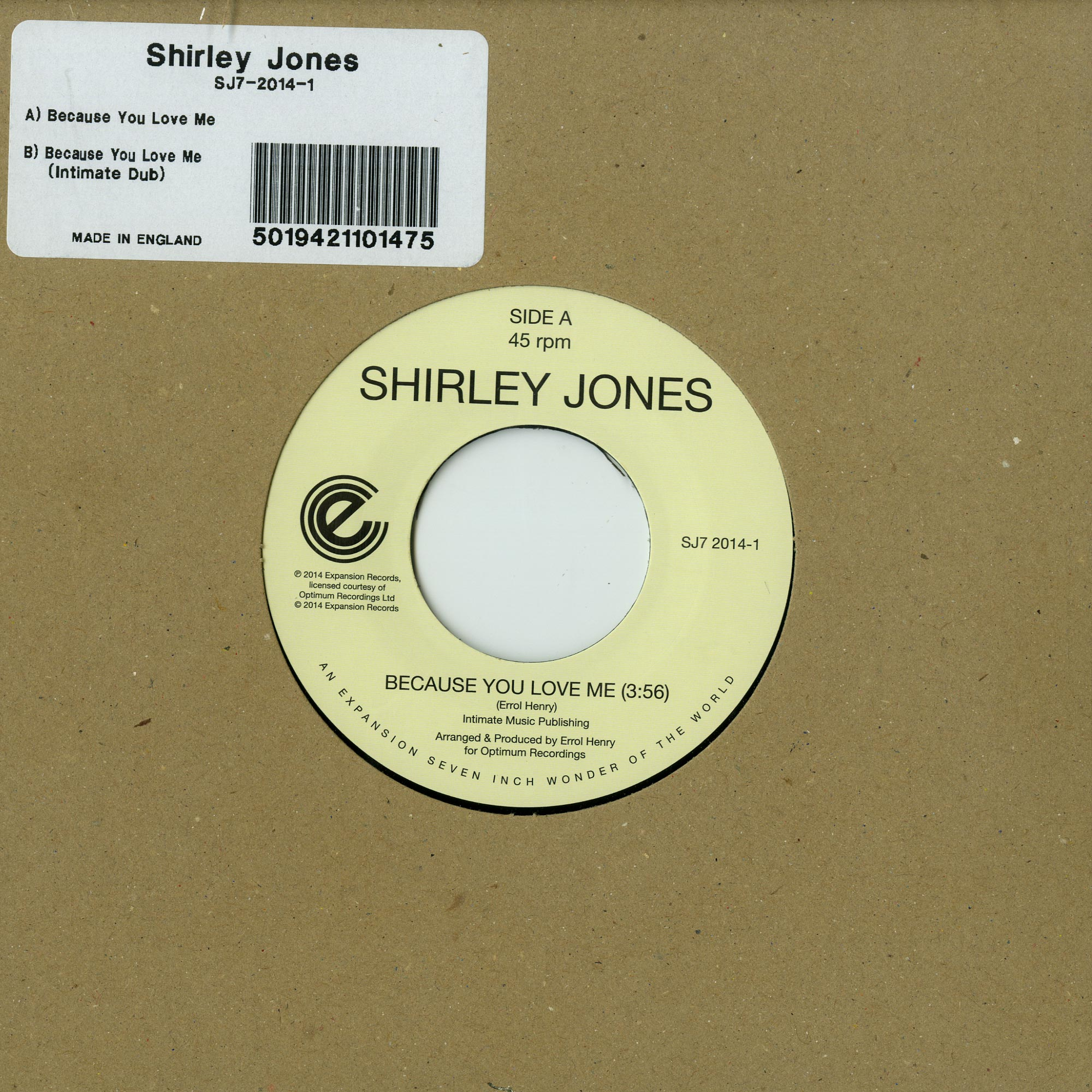 Shirley Jones - BECAUSE YOU LOVE ME