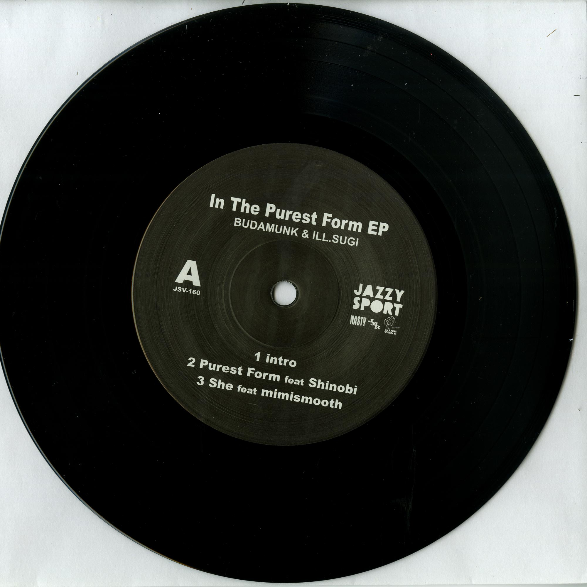 Budamunk & Ill.Sugi - IN THE PUREST FORM EP