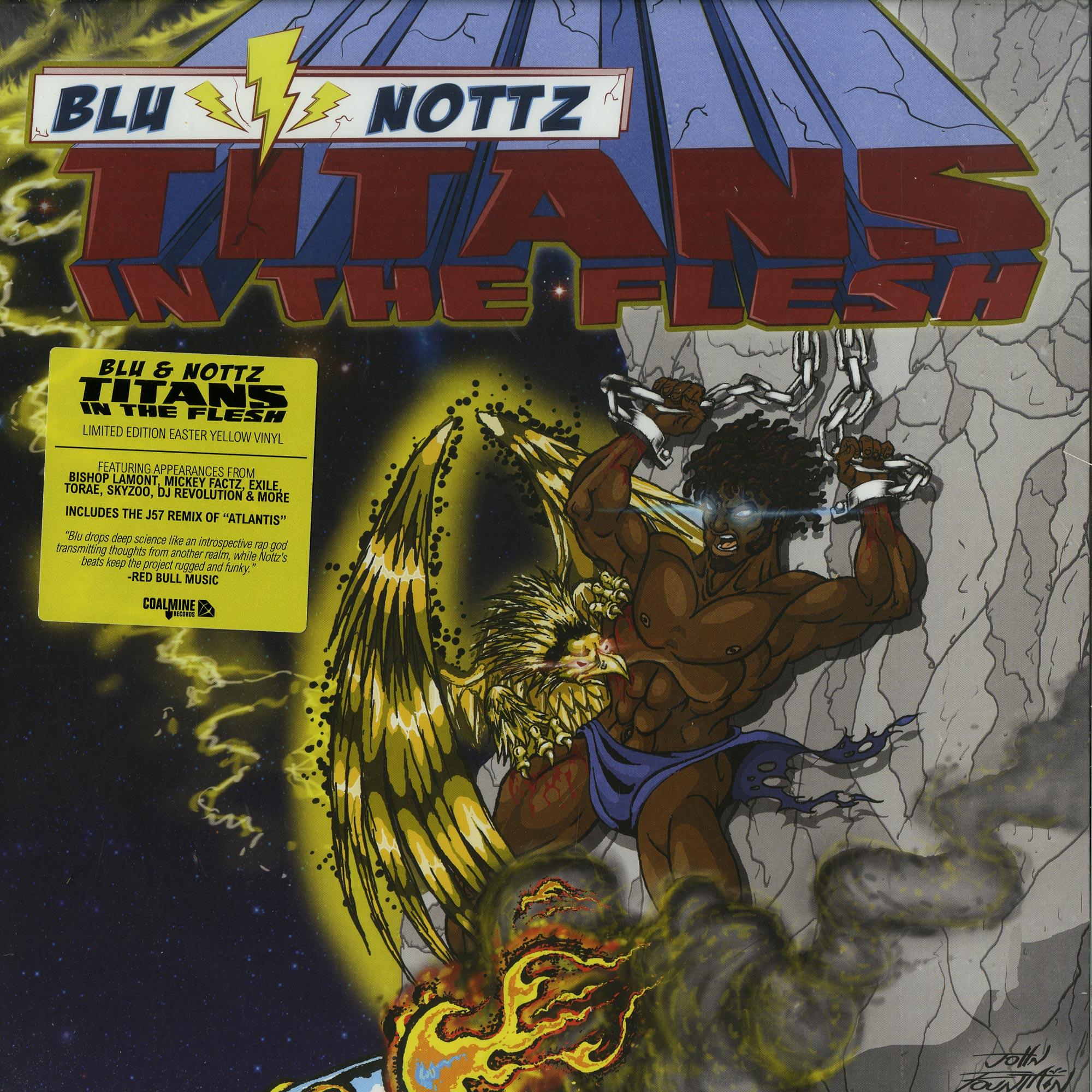 Blu & Nottz - TITANS IN THE FLESH EP