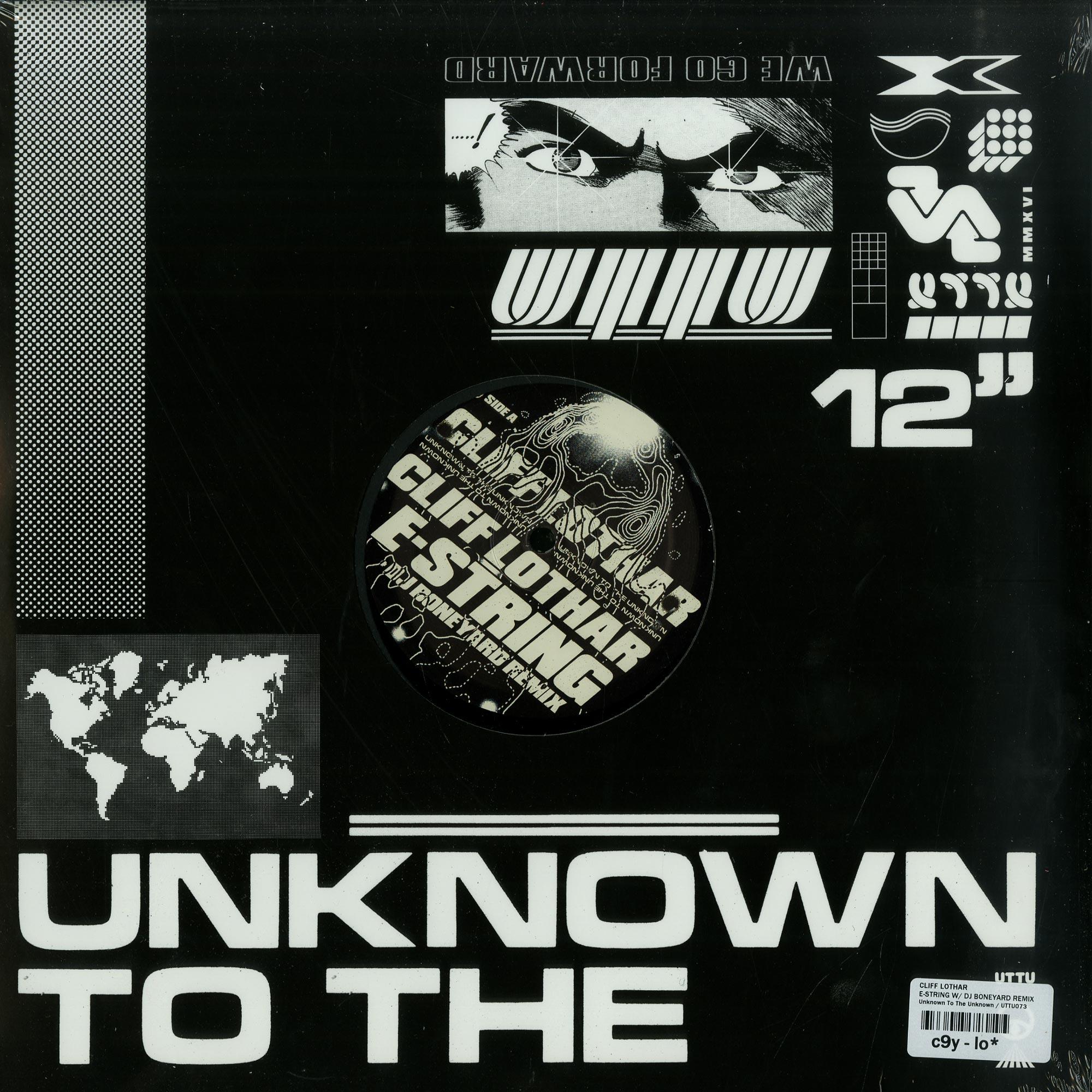 Cliff Lothar - E-STRING W/ DJ BONEYARD REMIX