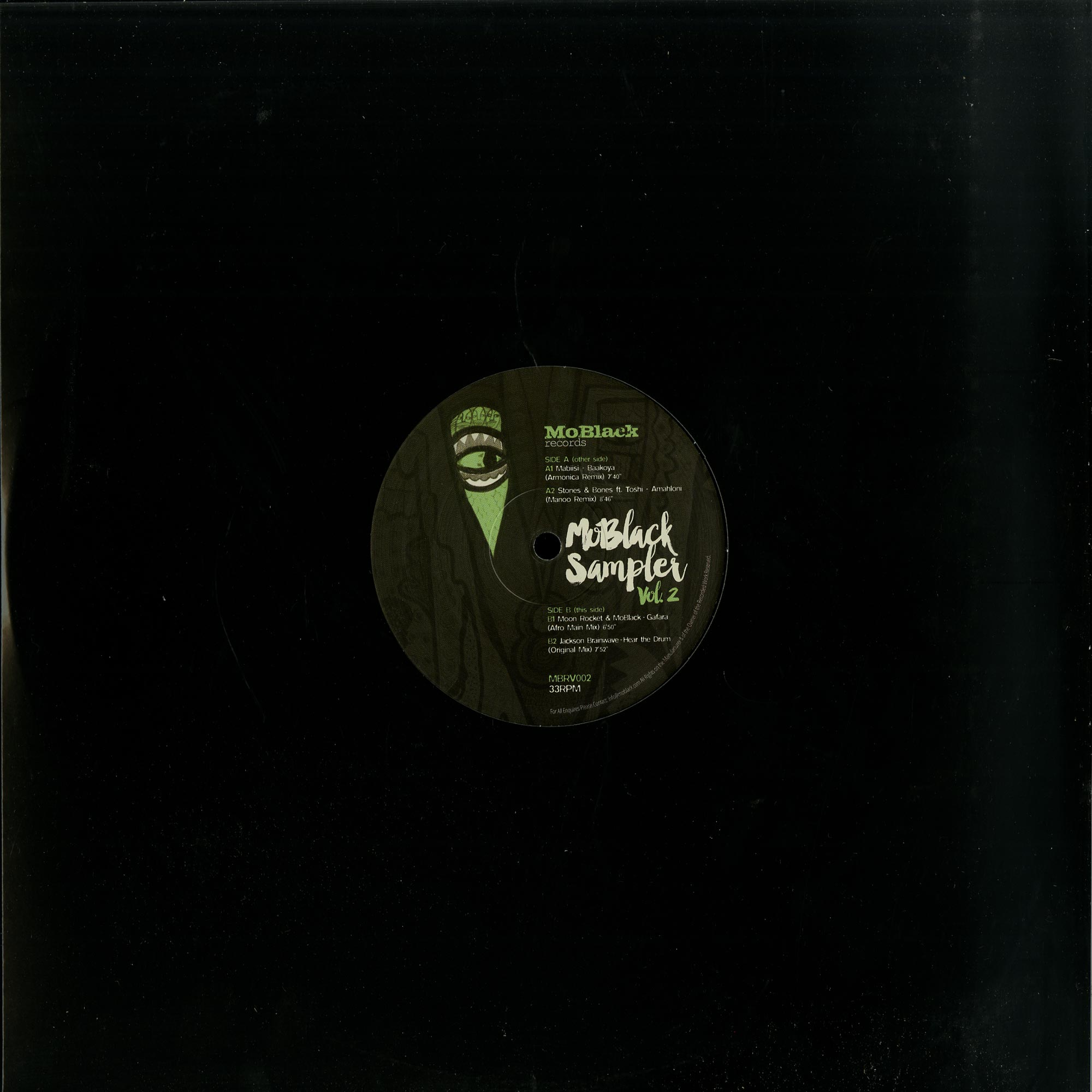 Various Artists - MOBLACK SAMPLER VOL.2