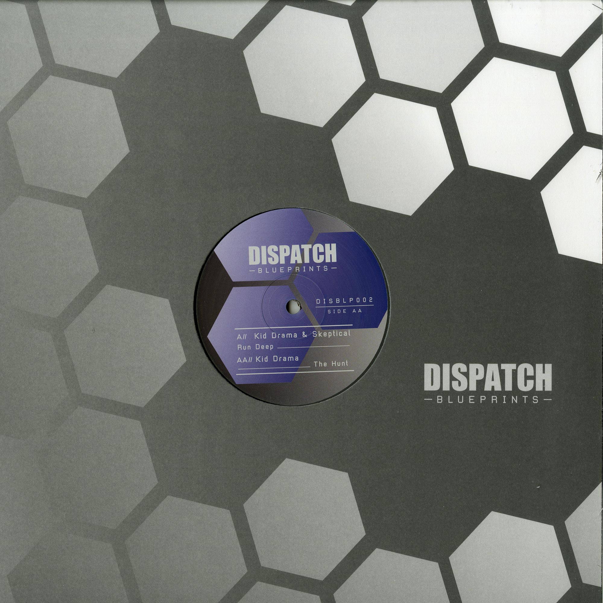 Kid Drama & Skeptical - RUN DEEP / THE HUNT