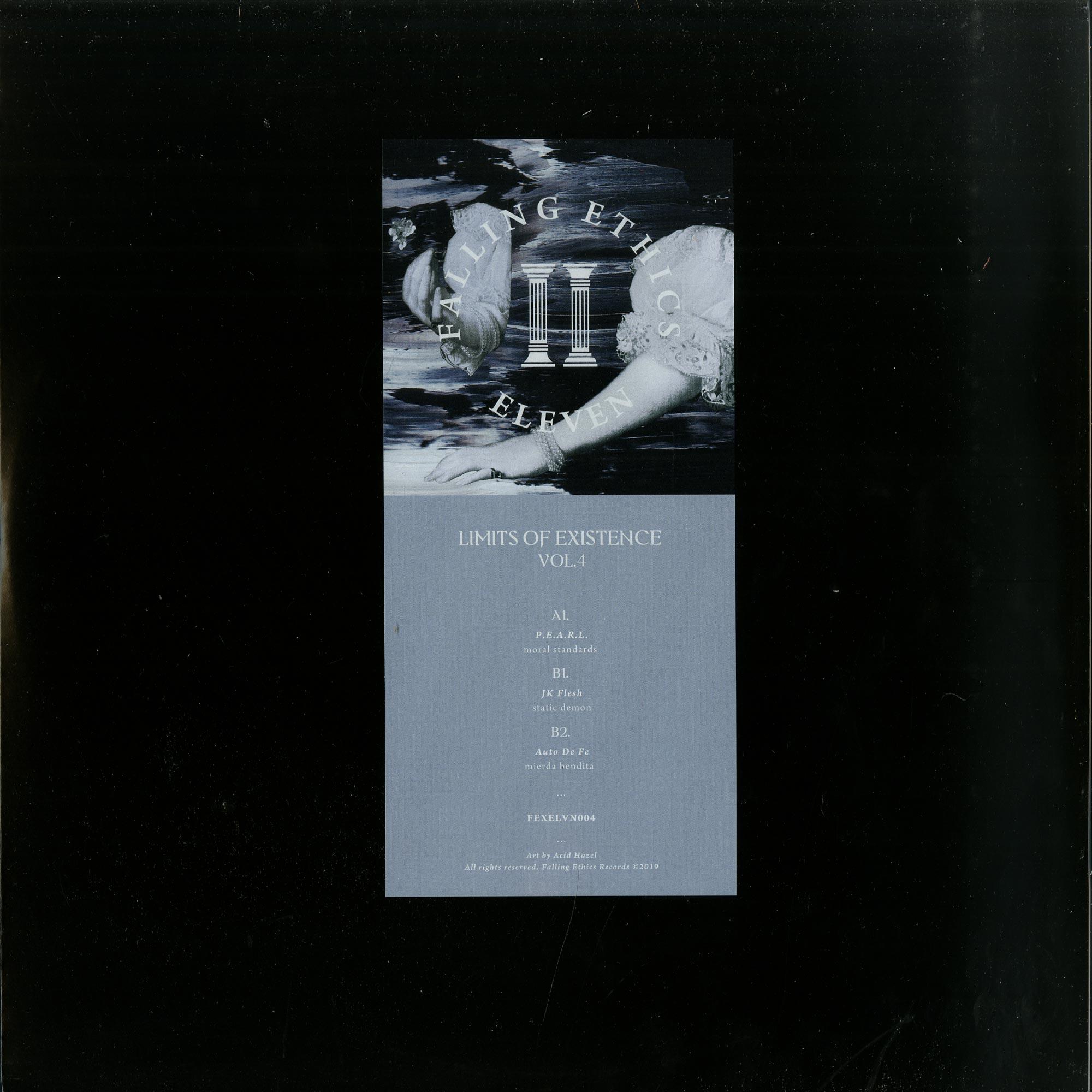 P.E.A.R.L. / JK Flesh / Auto De Fe - LIMITS OF EXISTENCE VOL. 4