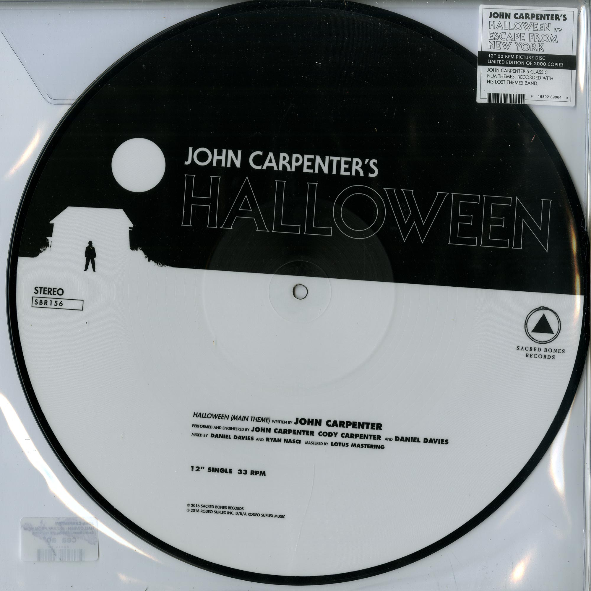 John Carpenter - HALLOWEEN / ESCAPE FROM NEW YORK