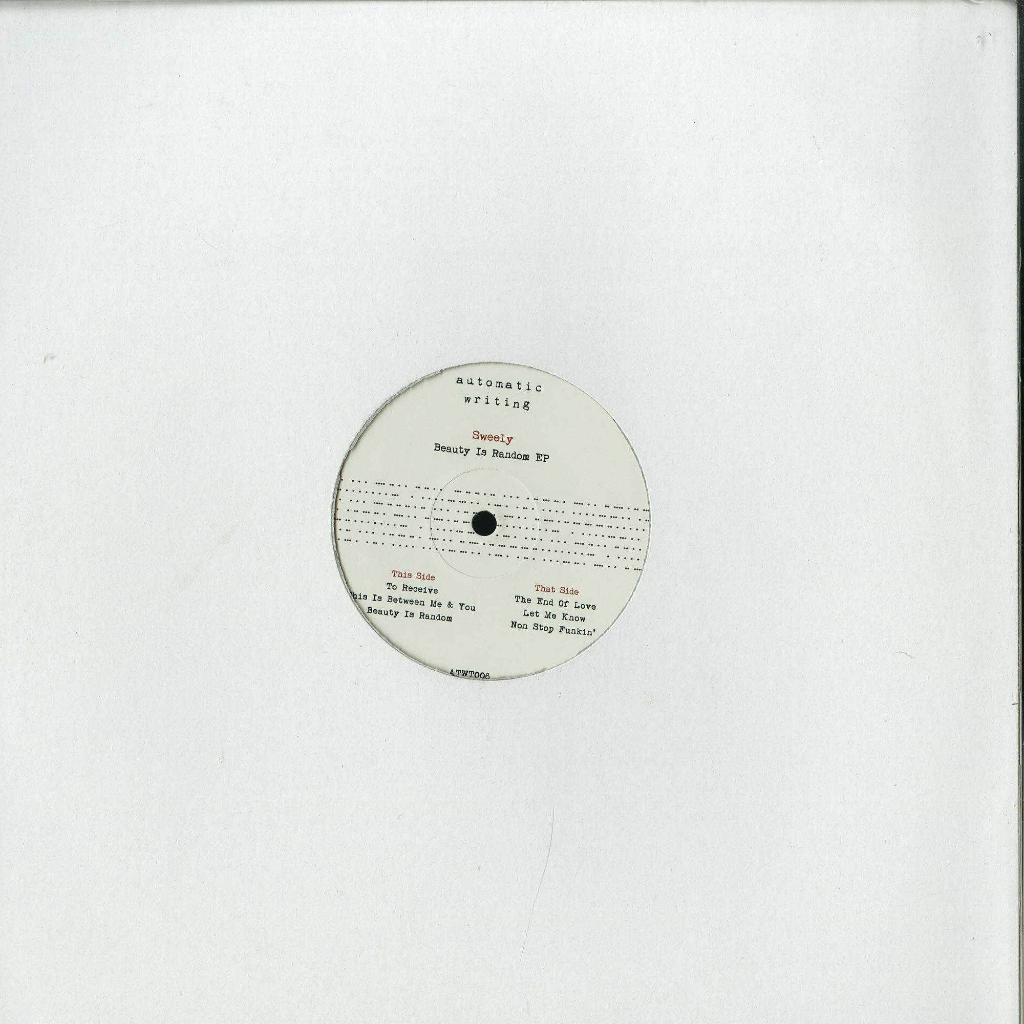 Sweely - BEAUTY IS RANDOM EP