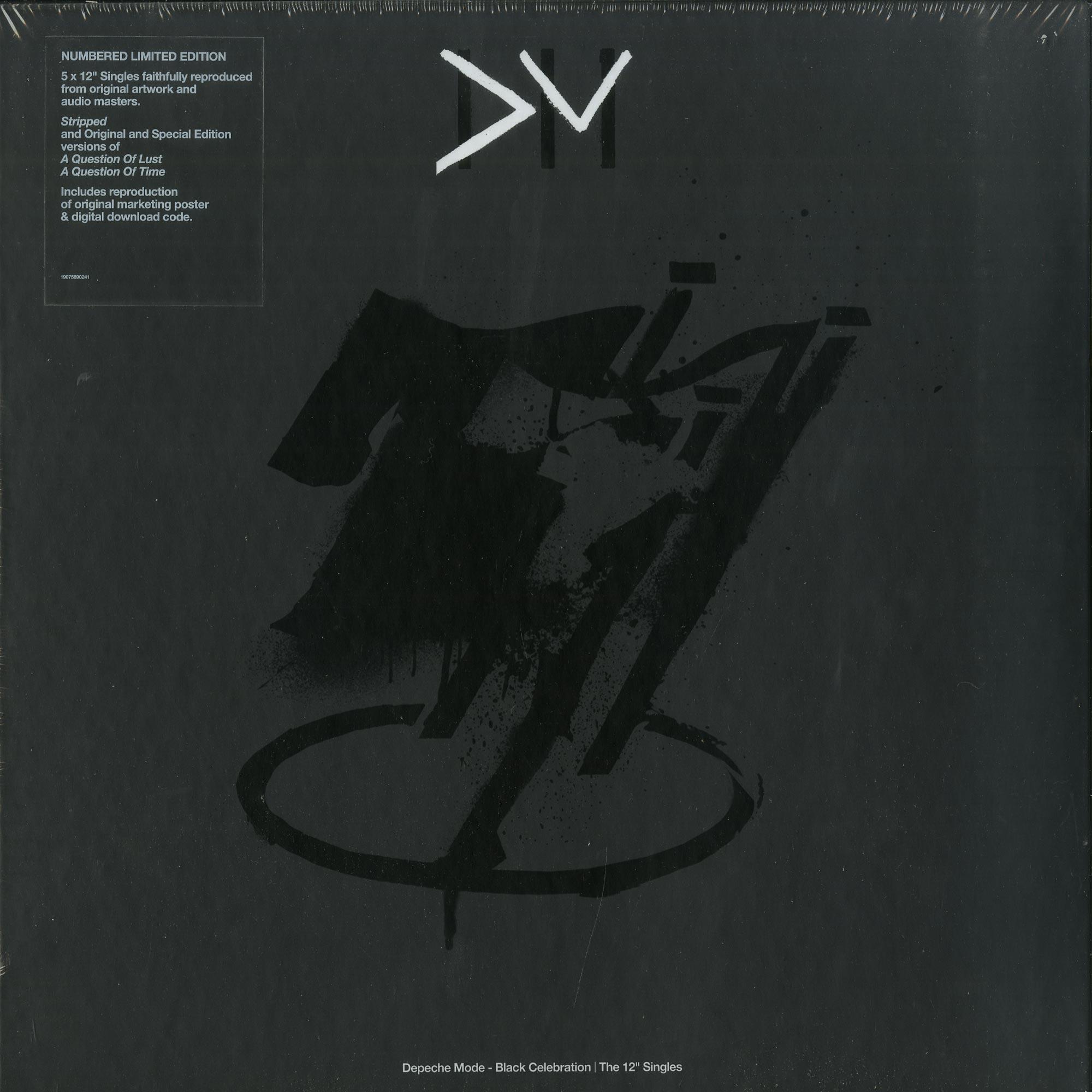 Depeche Mode - BLACK CELEBRATION-THE 12 Inch Singles