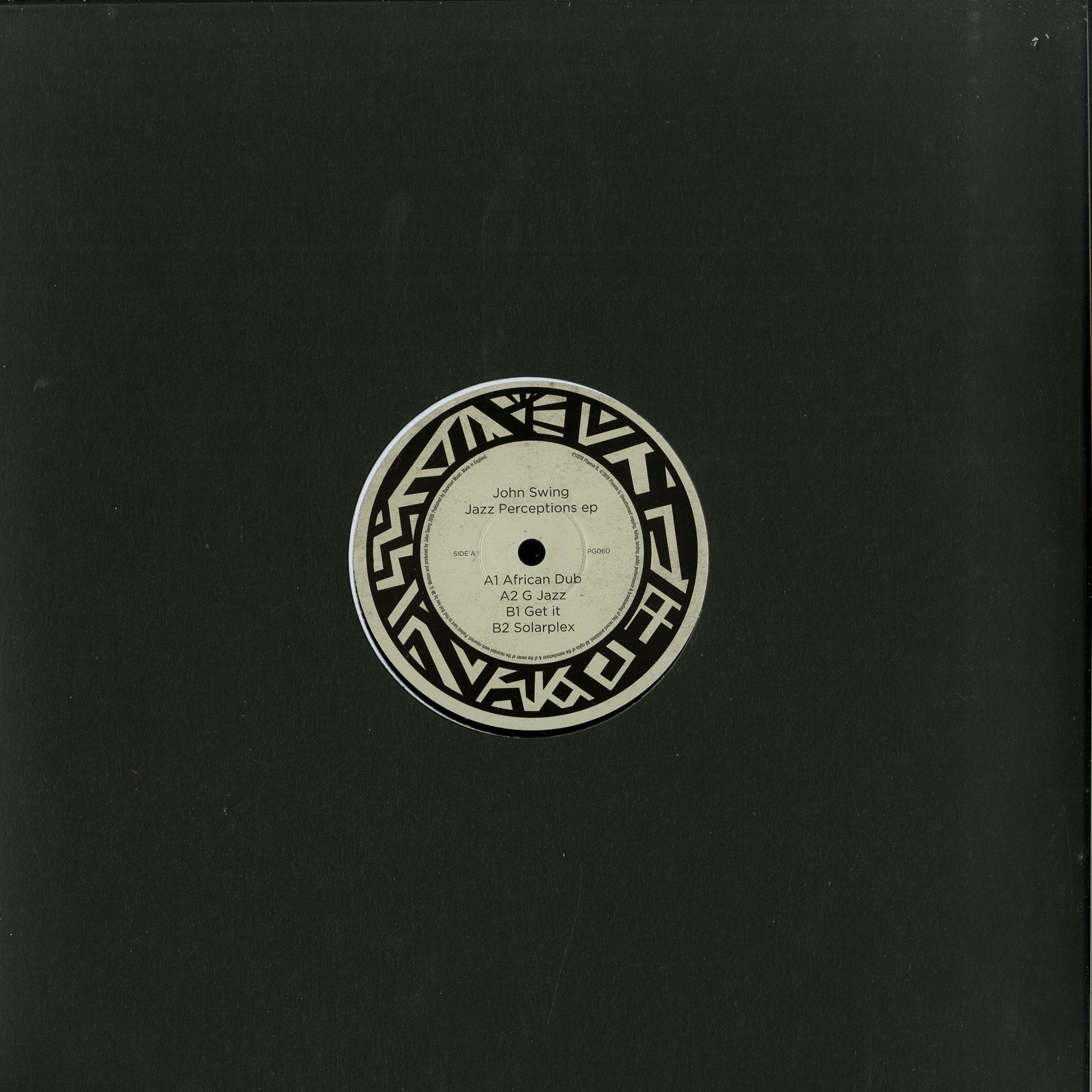 John Swing - JAZZ PERCEPTIONS EP