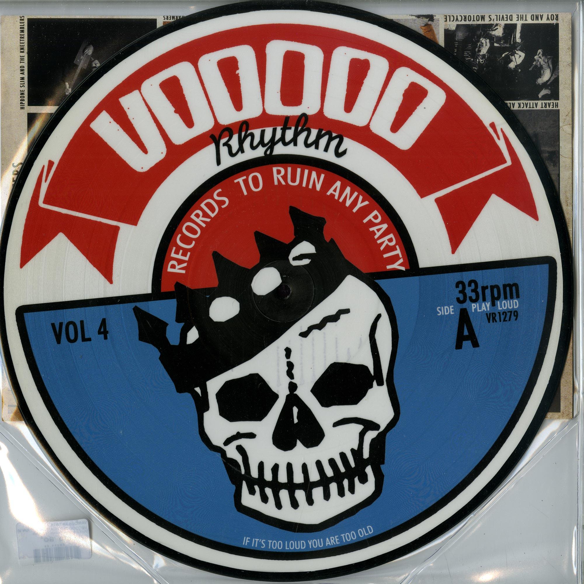 Various Artists - VOODOO RHYTHM COMPILATION VOL.4