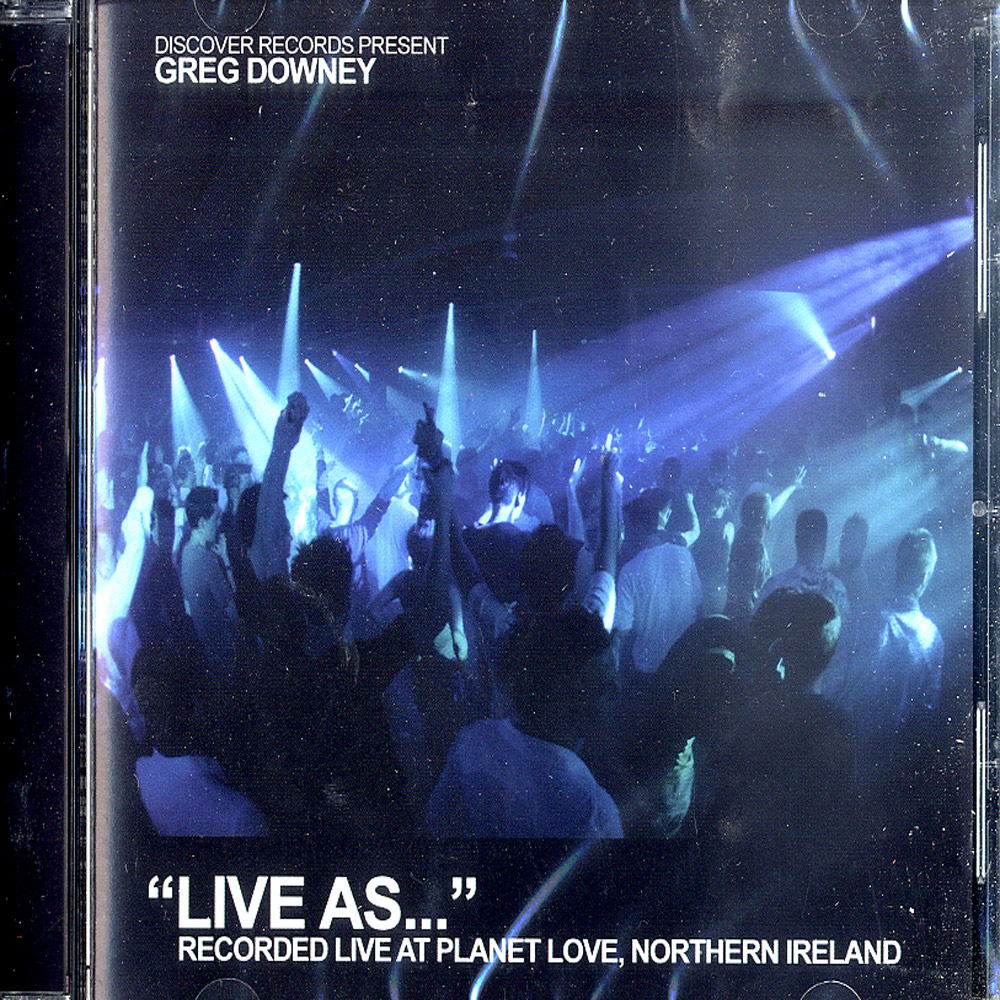 Greg Downey - LIVE AS ... VOL. 5