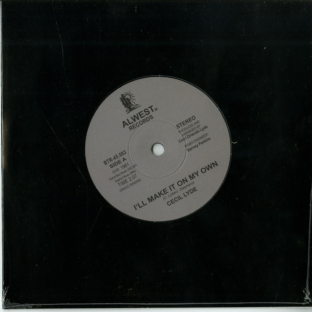 Cecil Lyde - I LL MAKE IT ON MY OWN