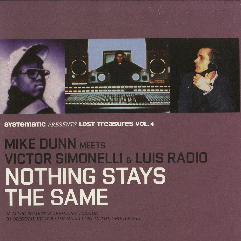 Mike Dunn meets Victor Simonelli & Luis Radio - NOTHING STAYS THE SAME