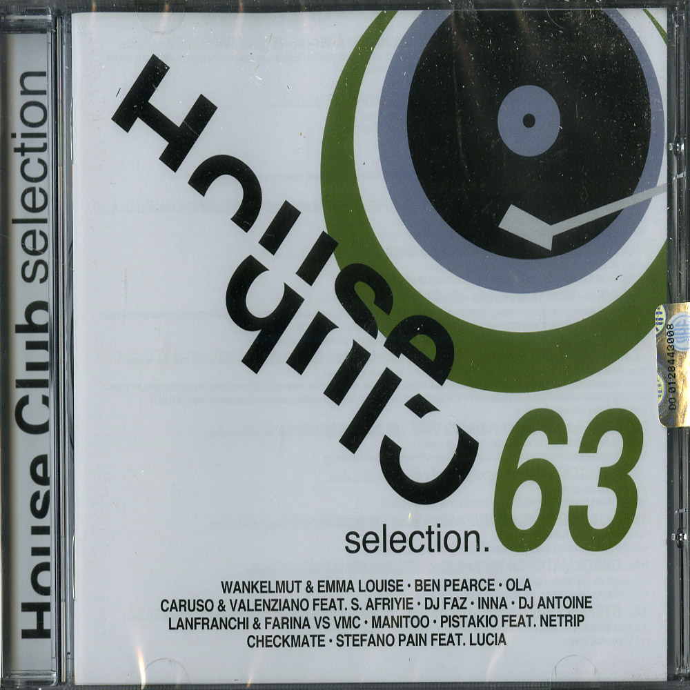 Various Artists - HOUSE CLUB SELECTION 63