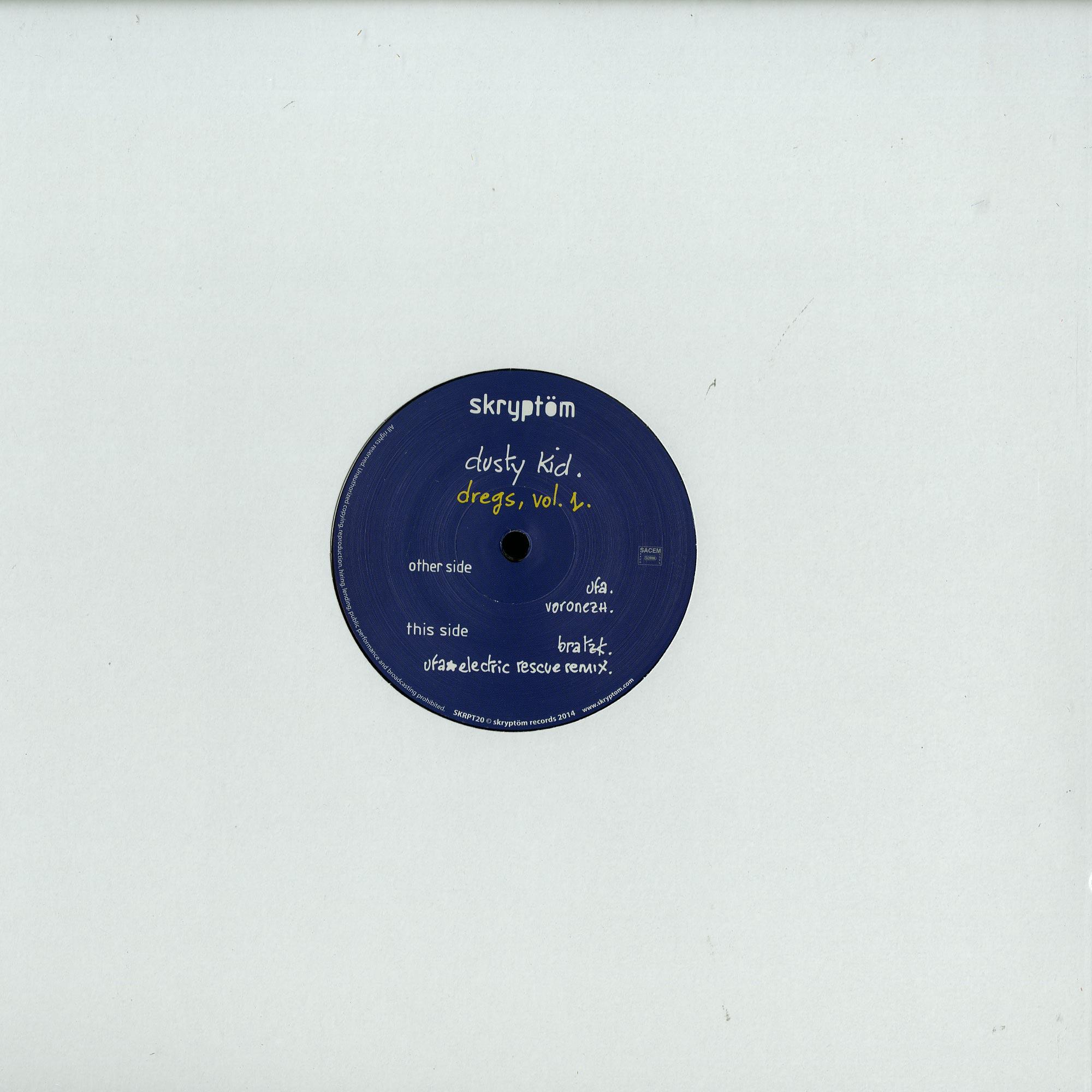 Dusty Kid - DREGS VOL1 EP