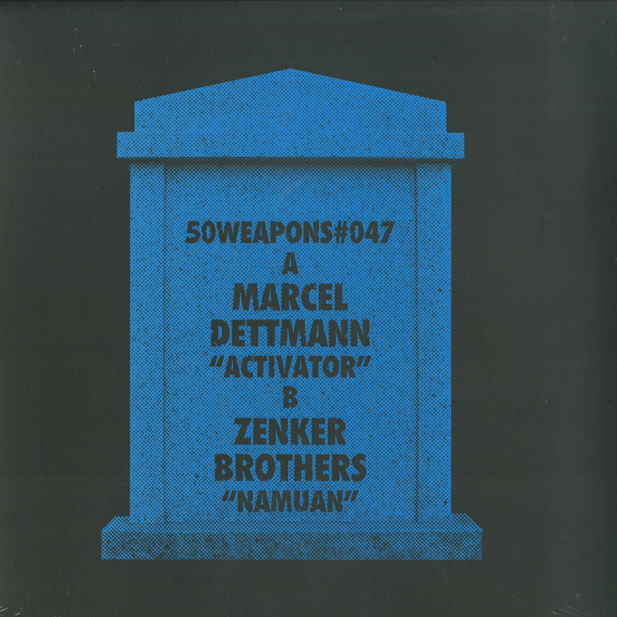 Marcel Dettmann / Zenker Brothers - ACTIVATOR / NAMUAN