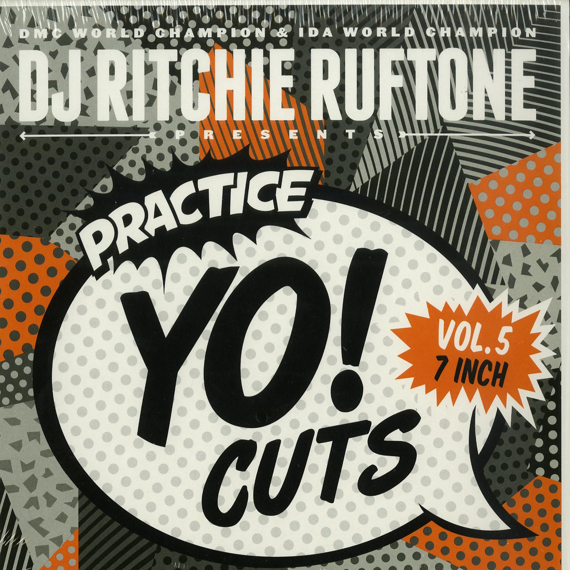 DJ Ritchie Rufftone - PRACTICE YO! CUTS VOL. 5
