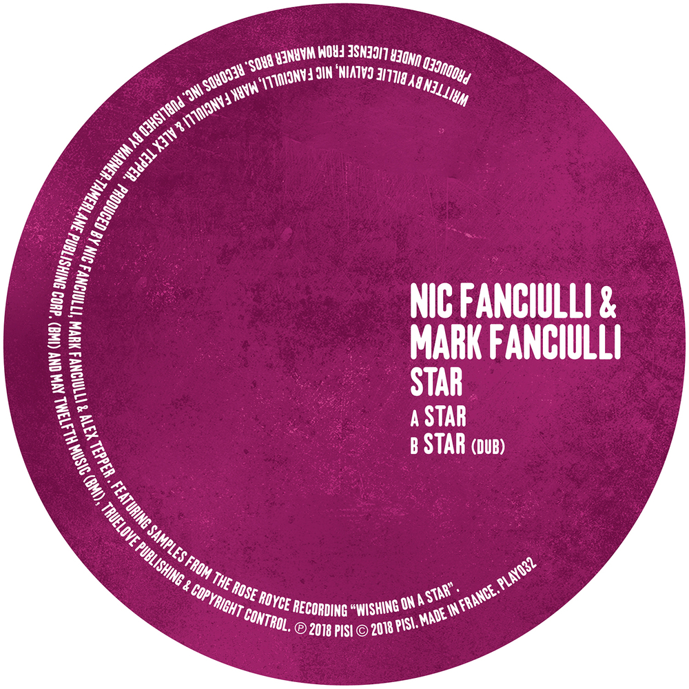 Nic Fanciulli & Mark Fanciulli - STAR