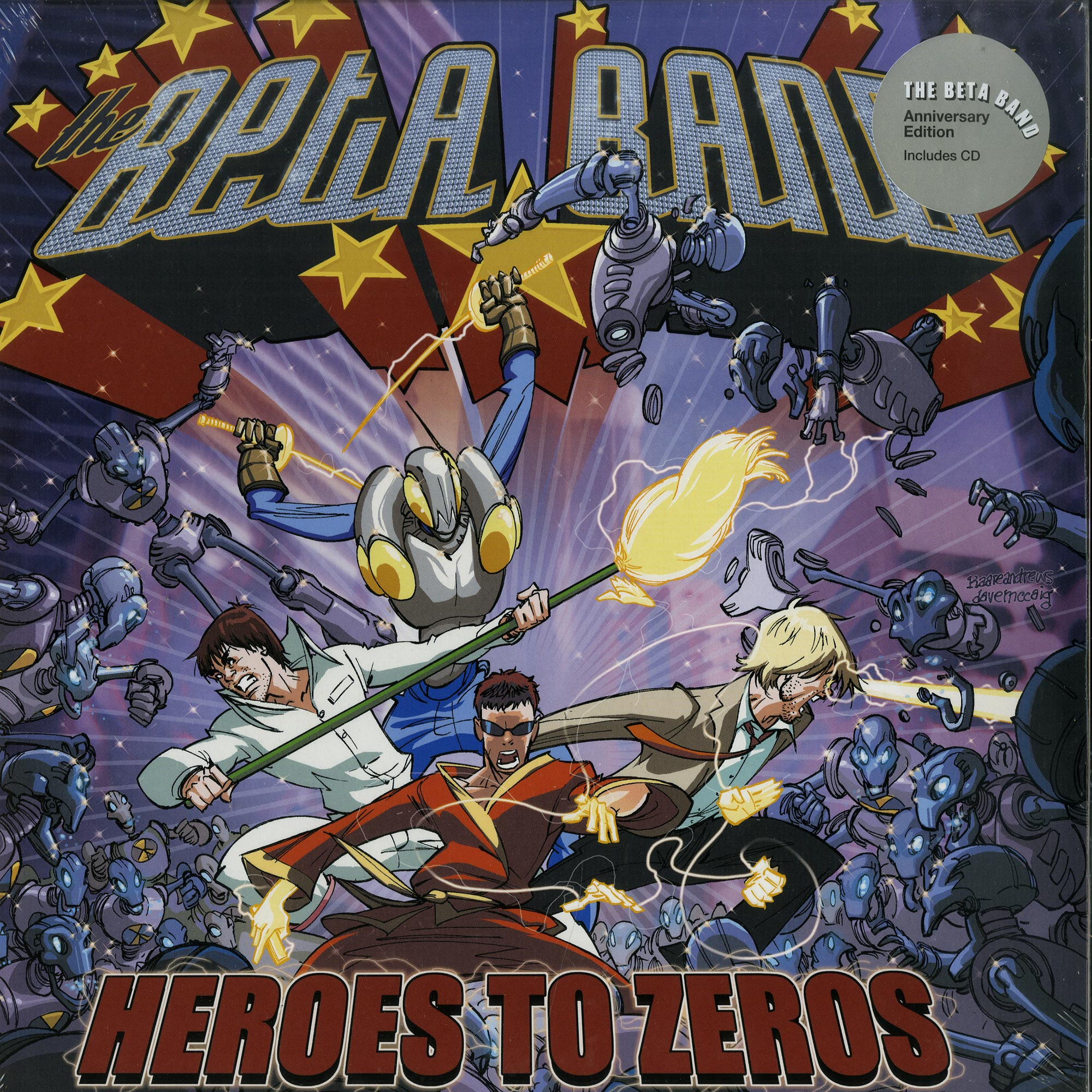 The Beta Band - HEROES TO ZEROS