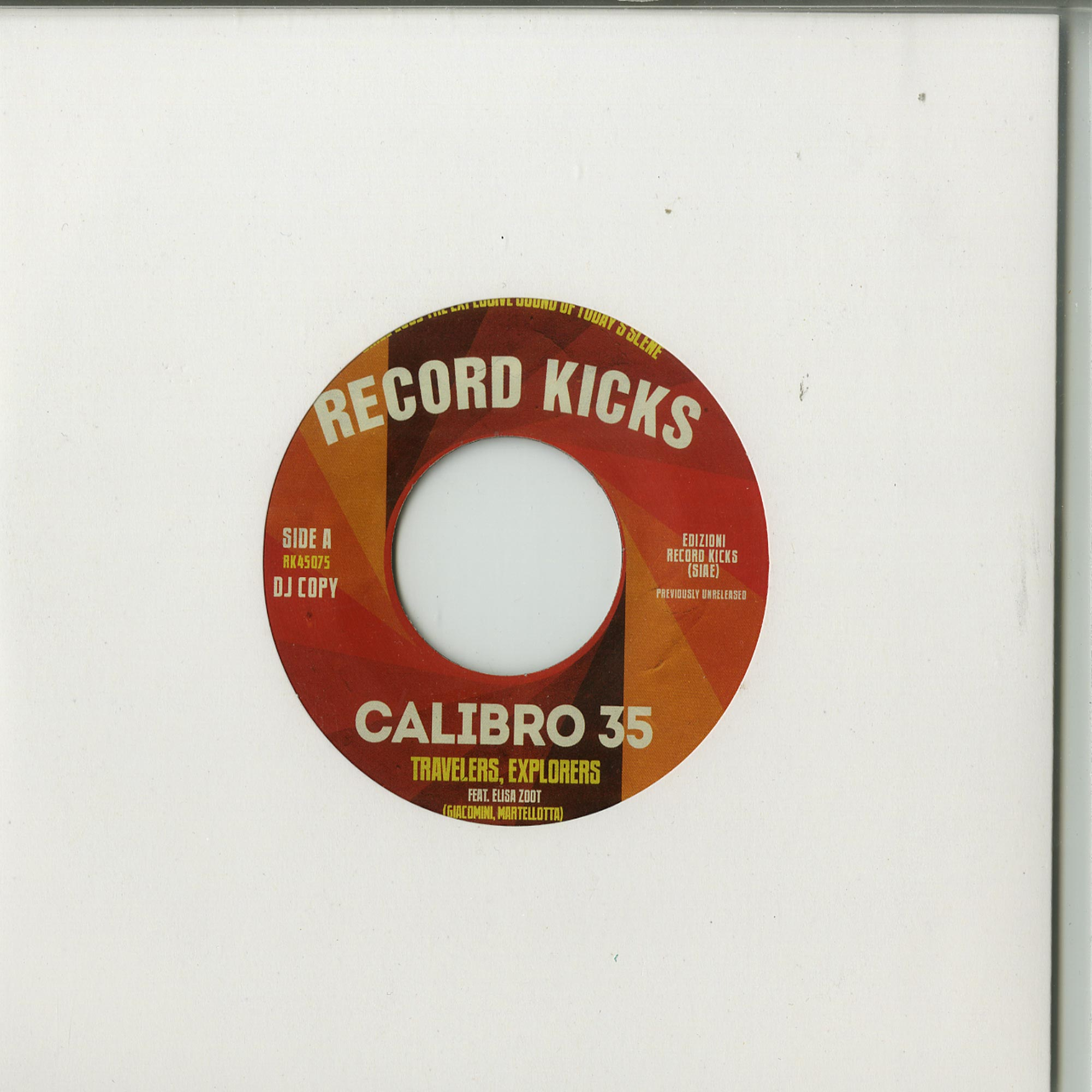 Calibro 35 - TRAVELERS / EXPLORERS