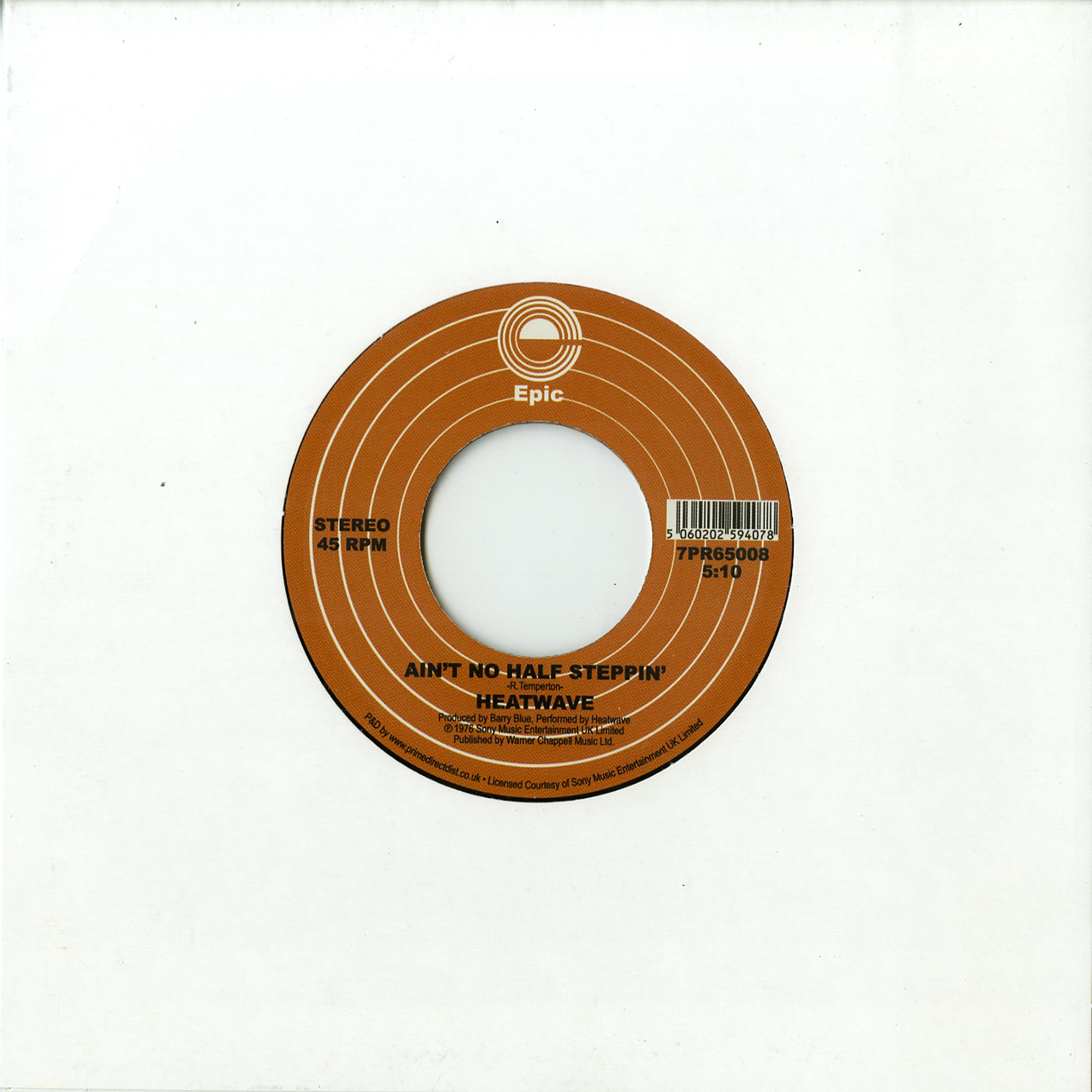 Heatwave - THE STAR OF A STORY / AINT NO HALF STEPPIN