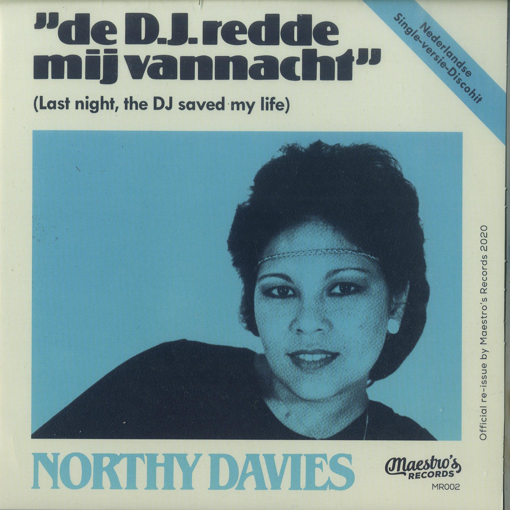 Northy Davies - DE D.J. REDDE MIJ VANNACHT