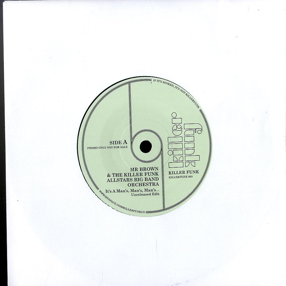 Mr Brown & Killer Funk Latin Allstars - ITS A MAN S WORLD