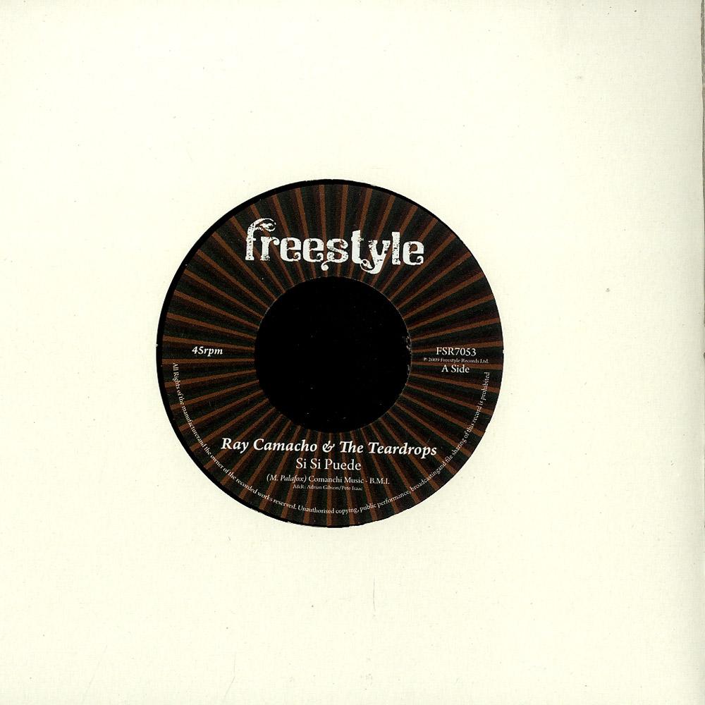 Ray Camacho & The Teardrops - SI SI PUEDE
