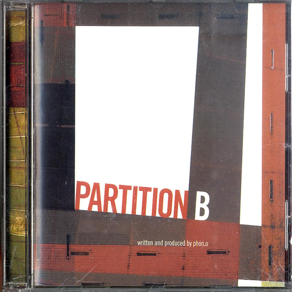Phon.o - PARTITION B