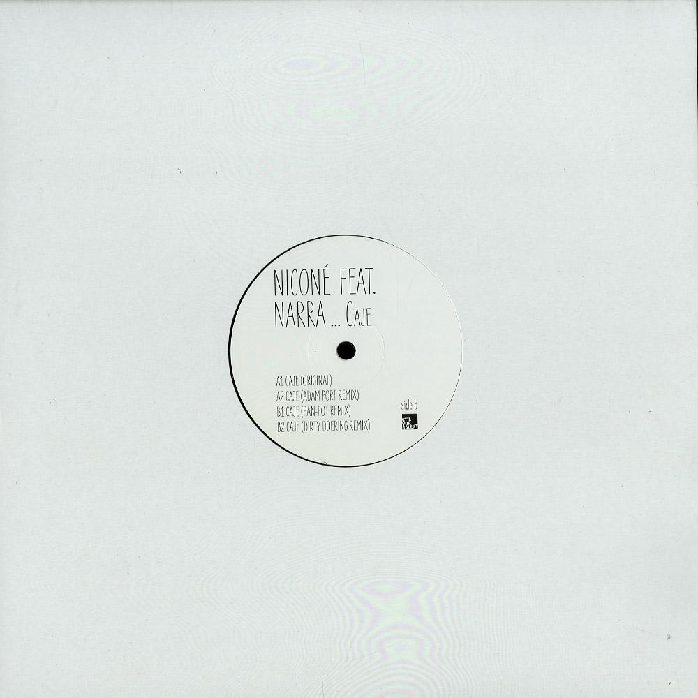 Nicone feat Narra - CAJE, PAN-POT, ADAM PORT, DOERING RMXS