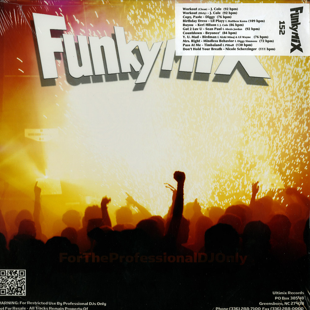 Various Artists - FUNKYMIX 152