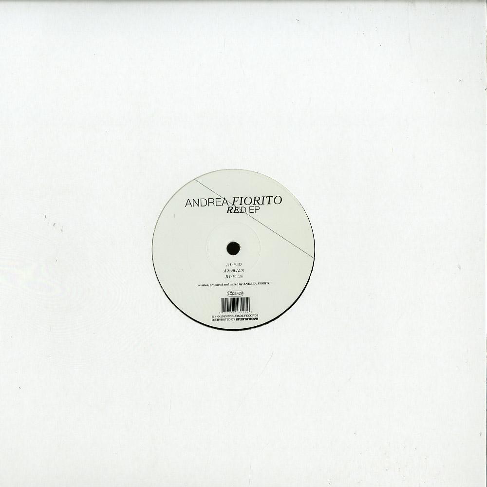 Andrea Fiorito - RED EP