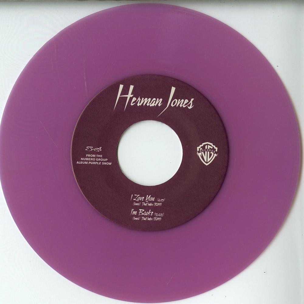 Herman Jones - I LOVE YOU / I M BROKE