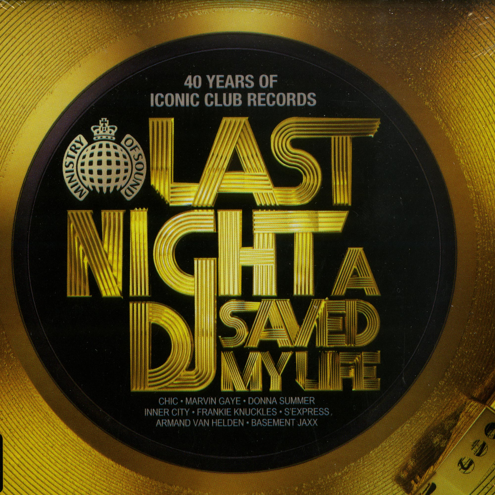 Various Artists - LAST NIGHT A DJ SAVED MY LIFE