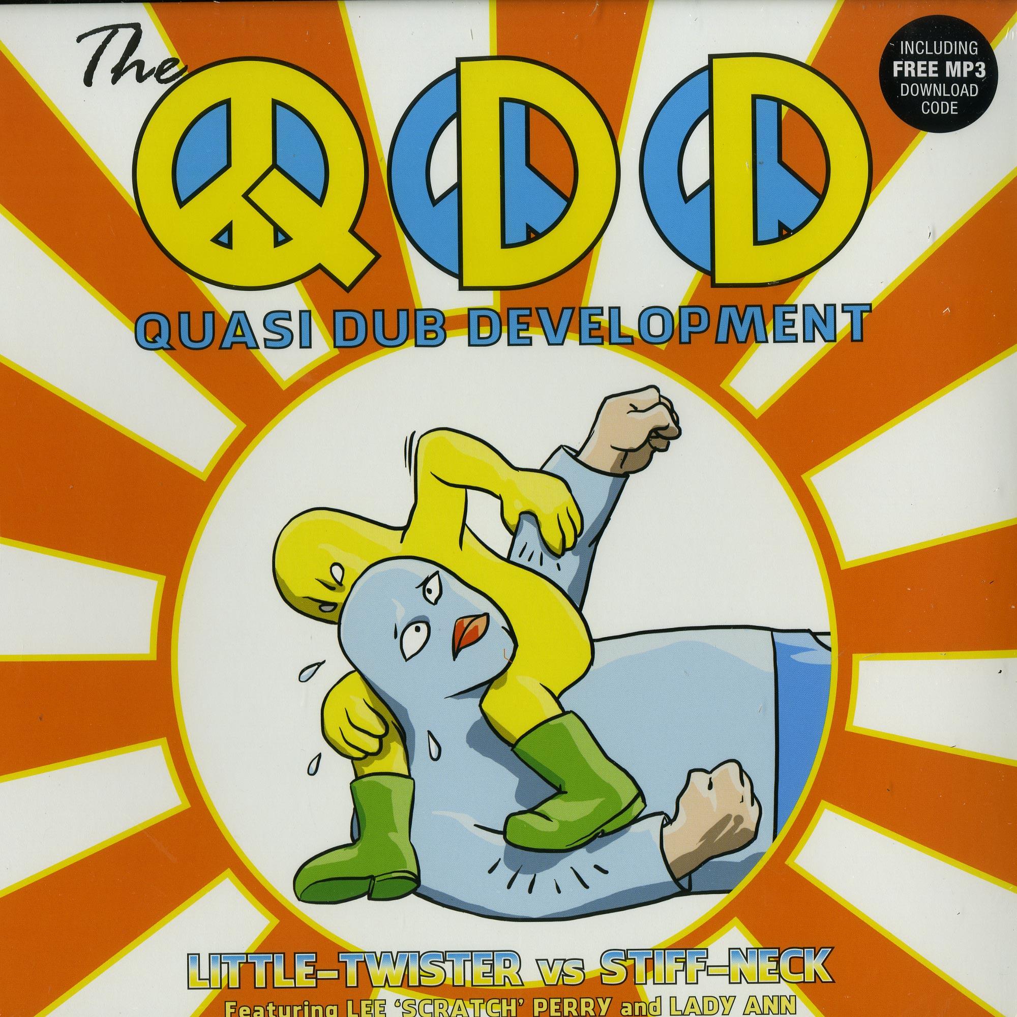 The Quasi Dub Developmen - LITTLE TWISTER VS. STIFF NECK