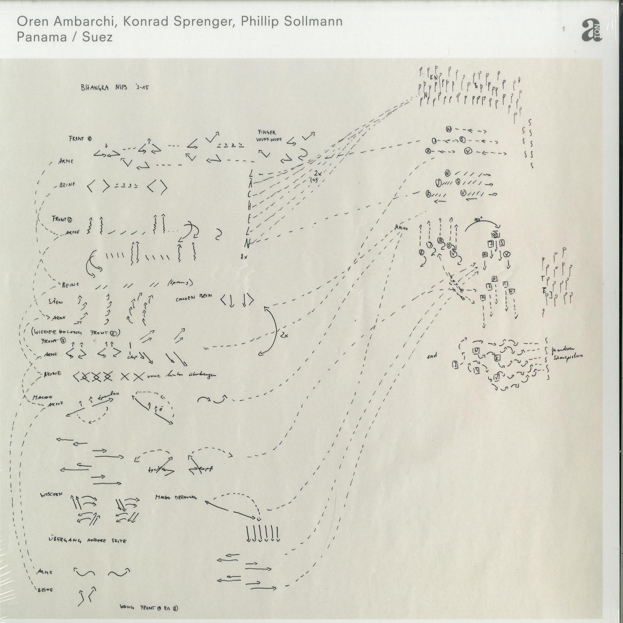 Oren Ambarchi / Konrad Sprenger / Phillip Sollmann - PANAMA / SUEZ