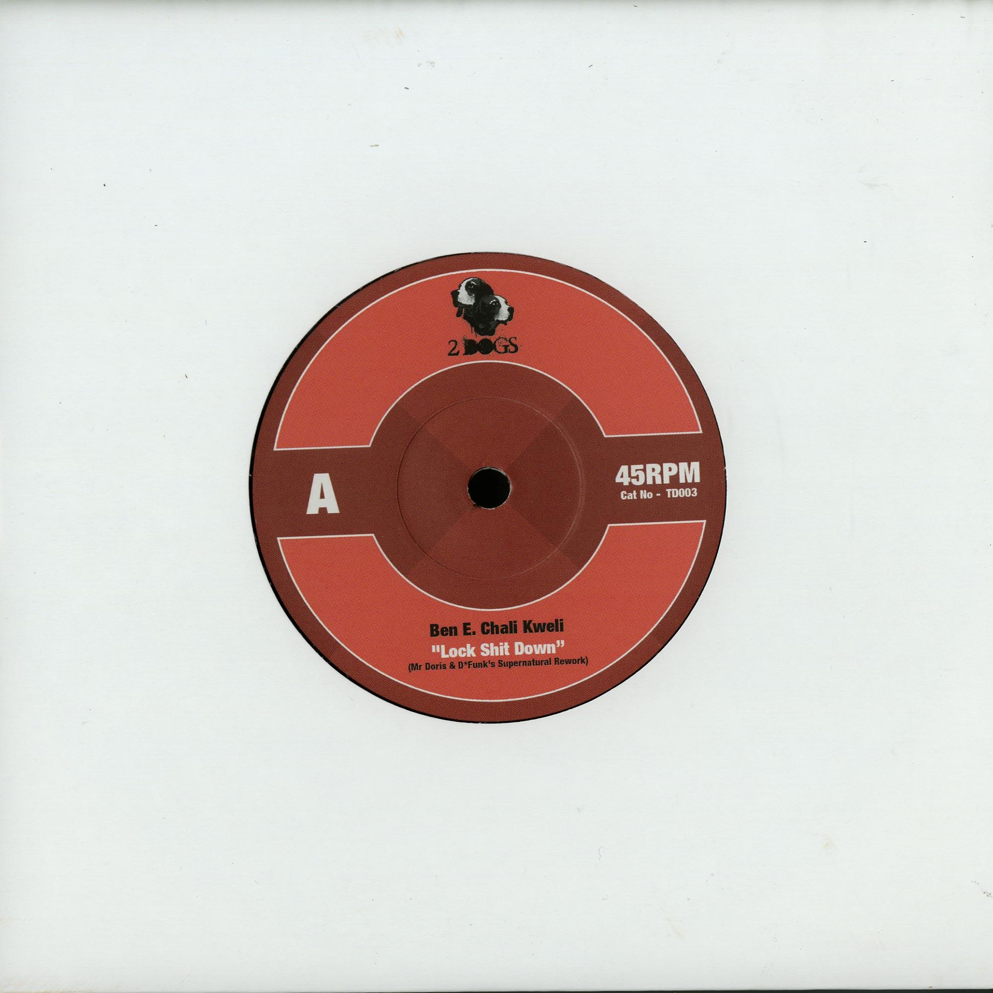 Ben E. Chali Kweli / Digabledrippers - LOCK SHIT DOWN / 9TH WONDER