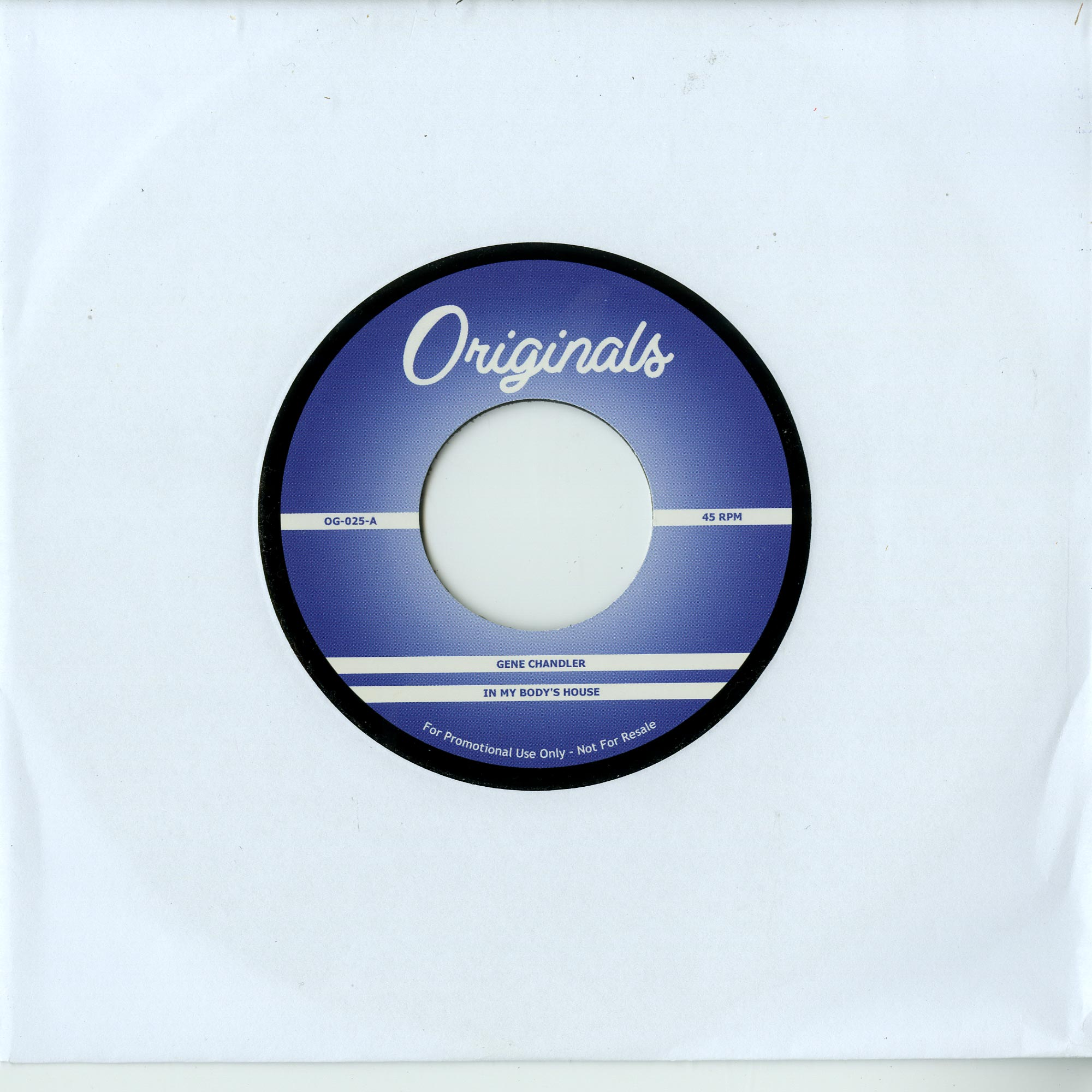 Gene Chandler - IN MY BODYS HOUSE