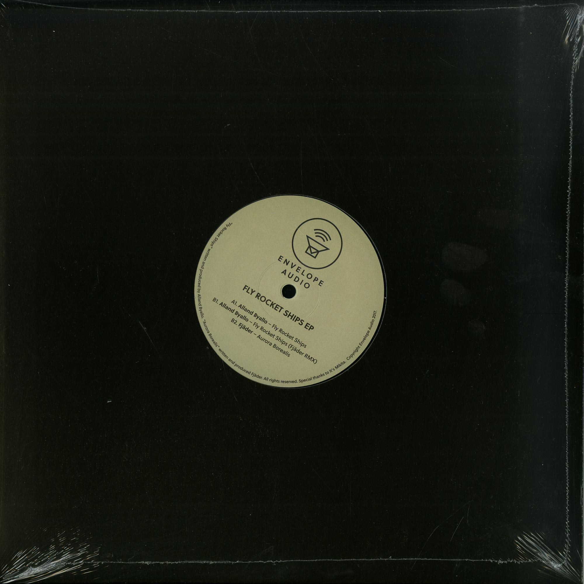 Alland Byallo / Fjaeder - FLY ROCKET SHIPS EP