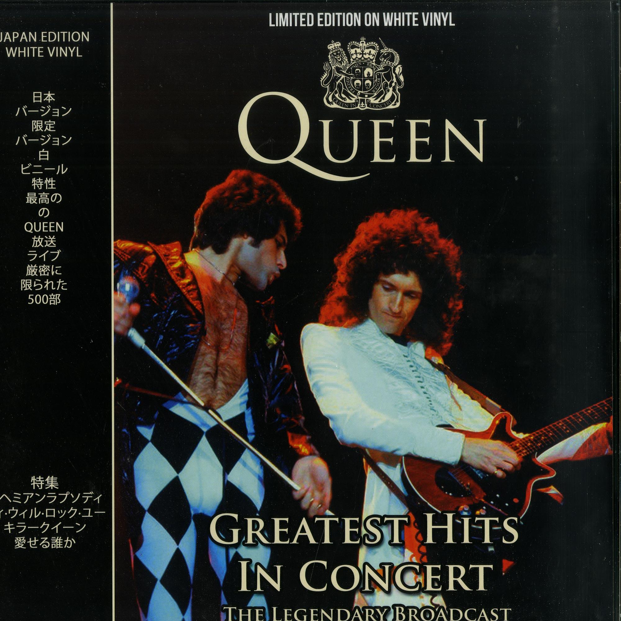 Queen - GREATEST HITS IN CONCERT