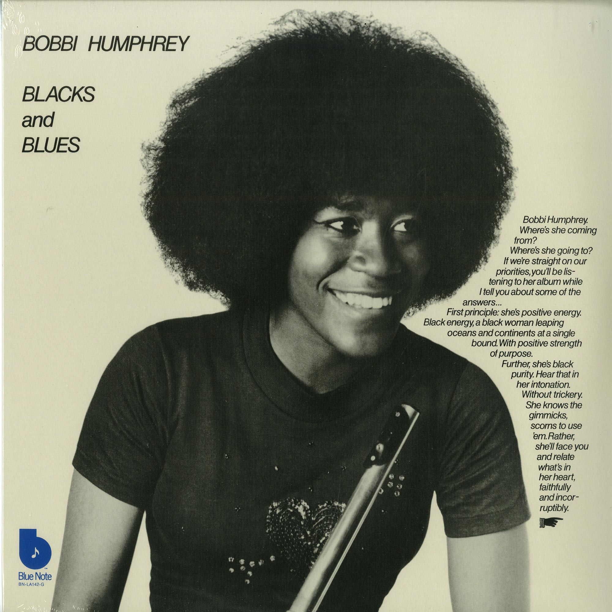 Bobbi Humphrey - BLACK AND BLUES