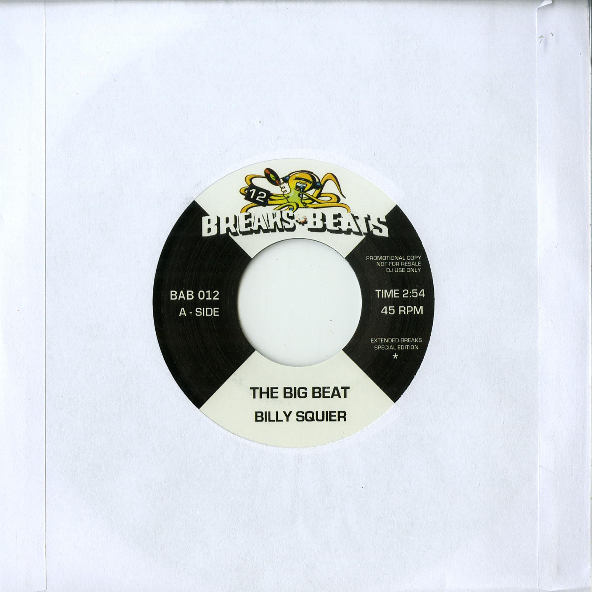 Billy Squier / Le Pamplemousse - THE BIG BEAT / GIMME WHAT YOU GOT