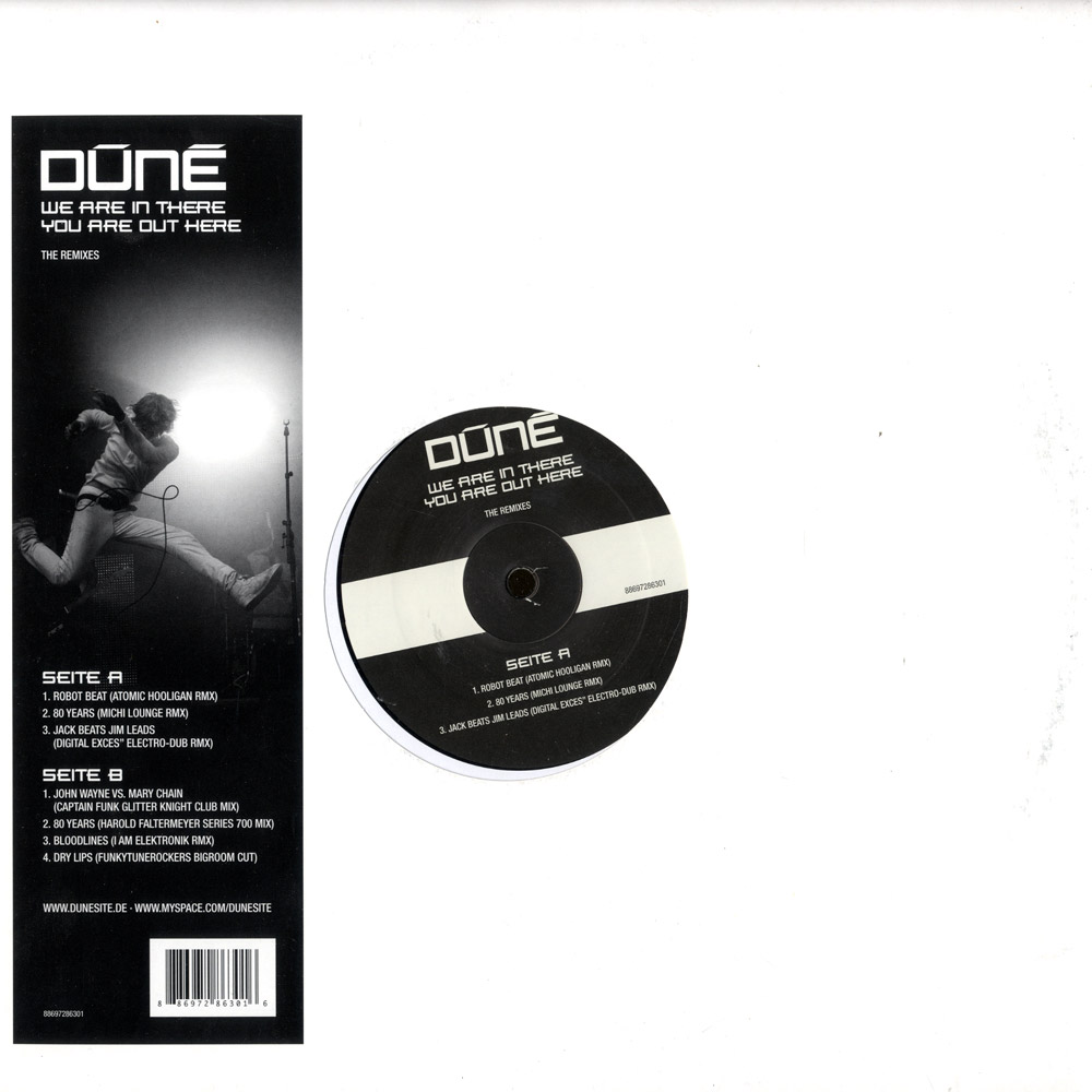 Dune - WE ARE IN THERE YOU ARE OUT HERE - REMIX