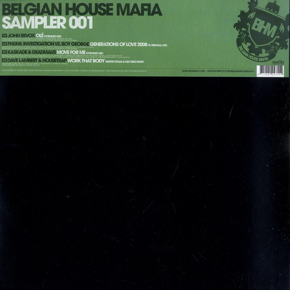 Belgian House Mafia - SAMPLER 001