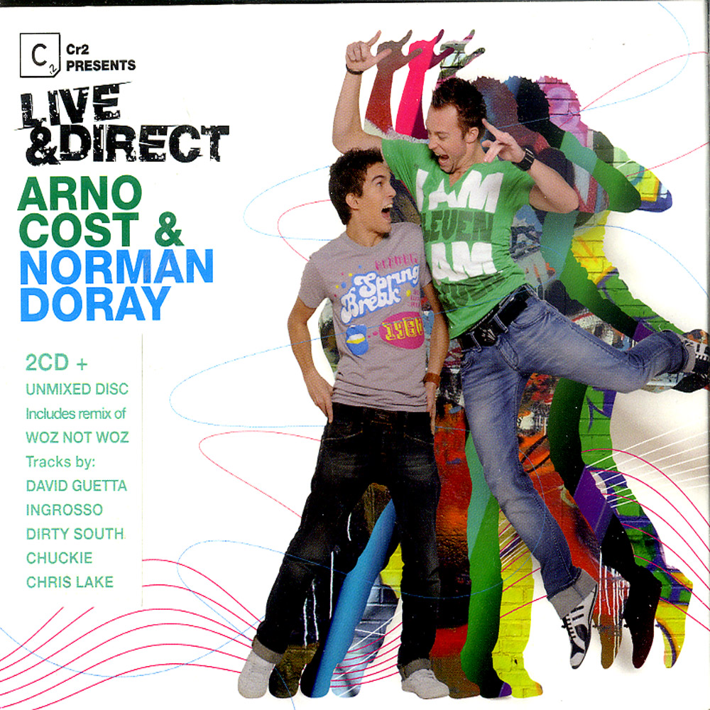 Various Artists mixed By Arno Cost & Norman Doray - CR2 PRES. LIVE & DIRECT