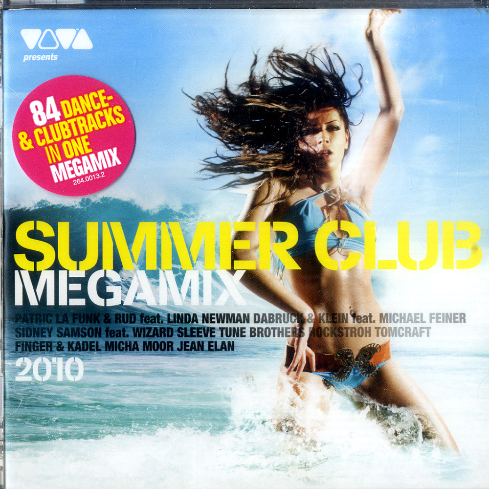 Various - SUMMER CLUB MEGAMIX 2010