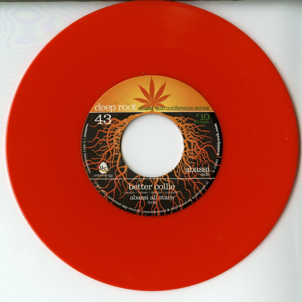 Abassi All Stars / Dub All Sense ft. Longfingah - BETTER COLLIE / COLLIMAN