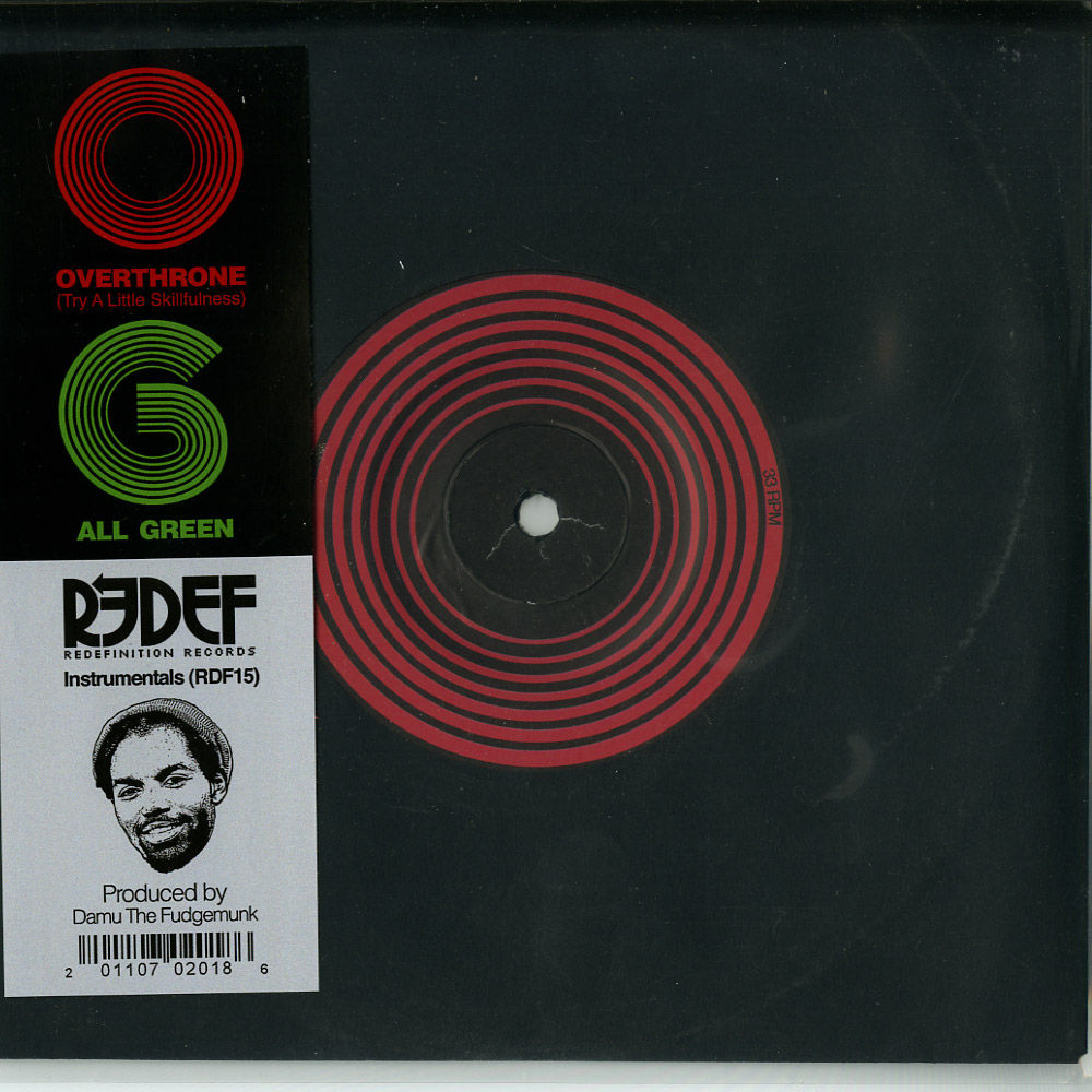 Damu The Fudgemunk - OVERTHRONE / ALL GREEN