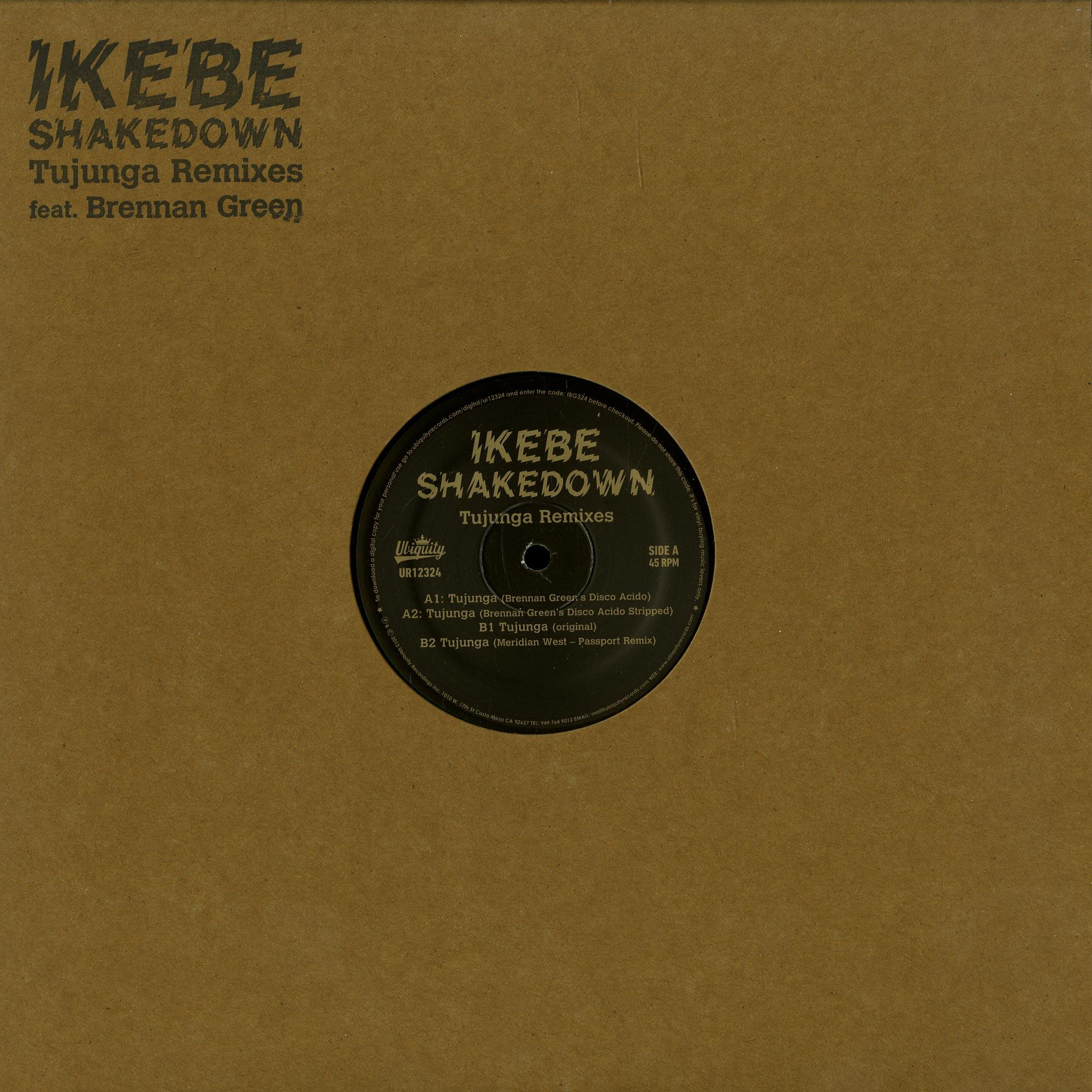 Ikebe Shakedown - TUJUNGA REMIXES