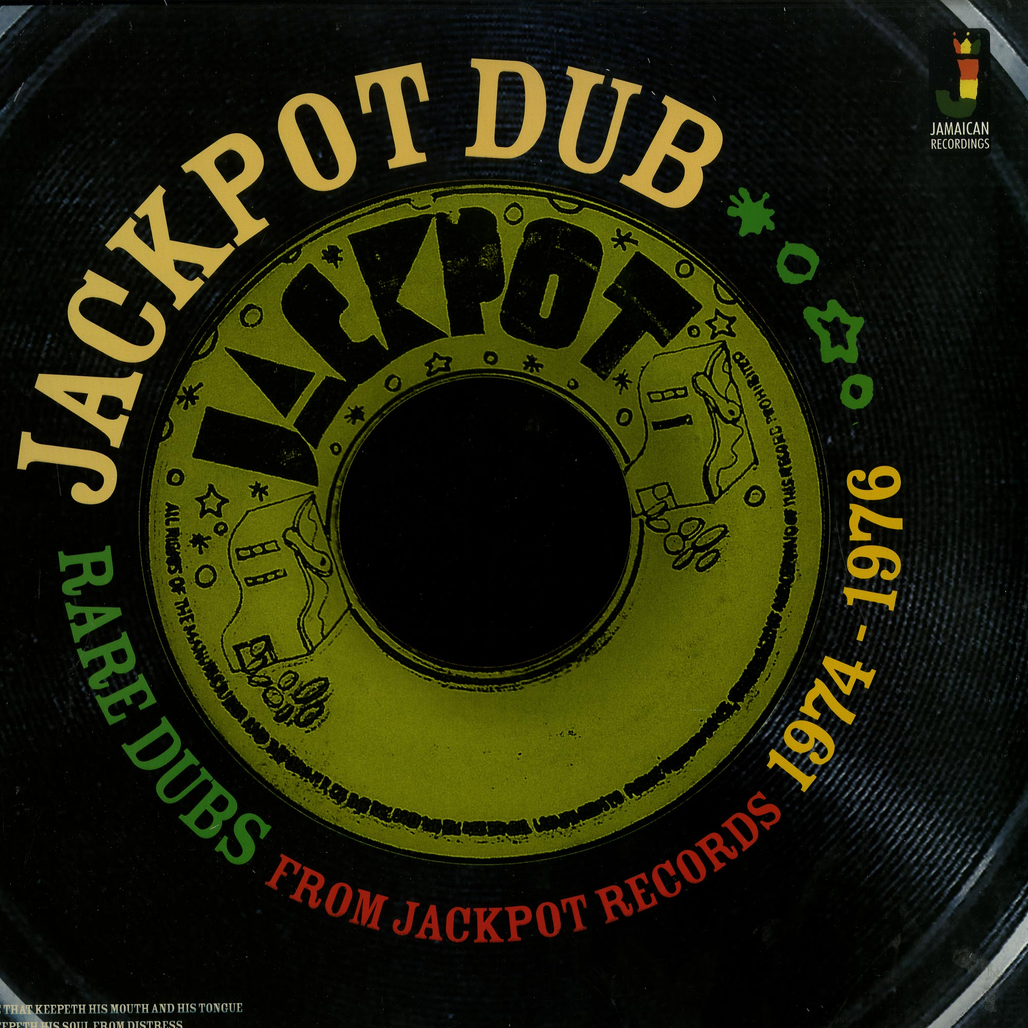 Various Artists - RARE DUBS FROM JACKPOT RECORDS 1974-1976