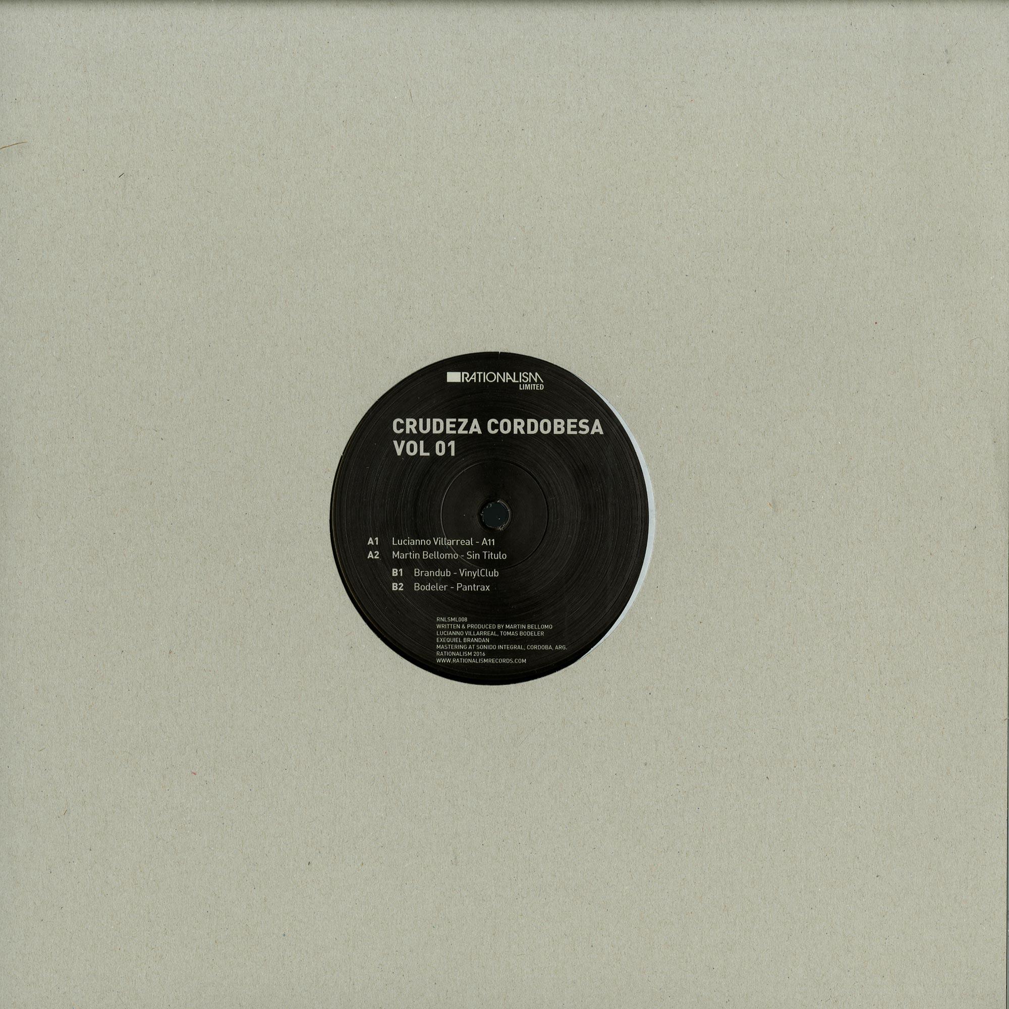 Various Artists - CRUDEZA CORDOBESA VOL 01
