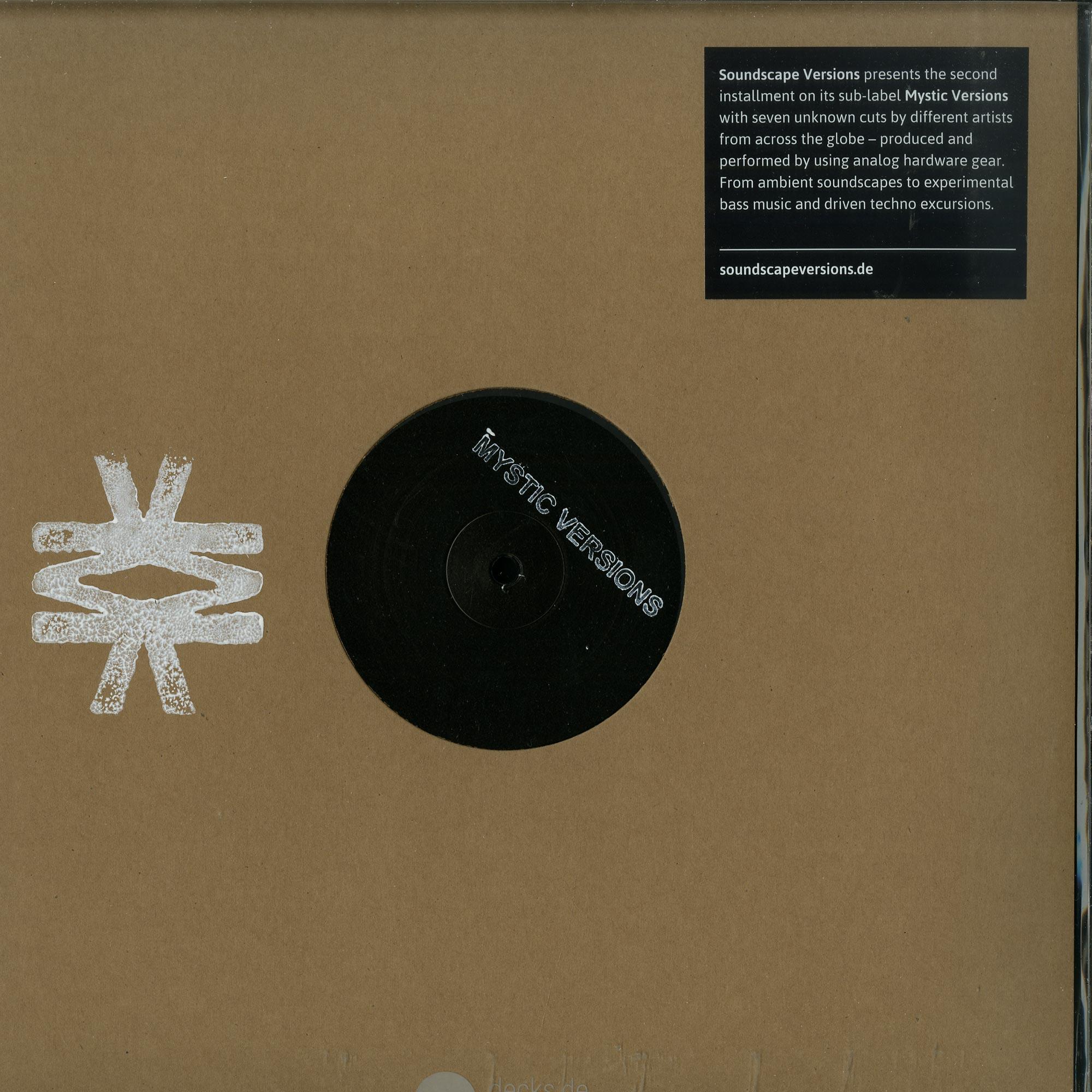 Various Artists - MYSTIC VERSIONS 02 LP